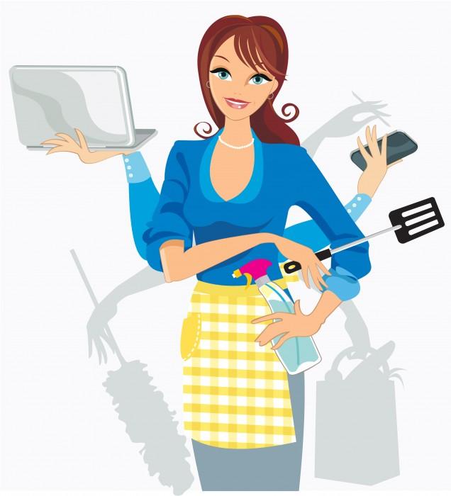 multitasking-woman