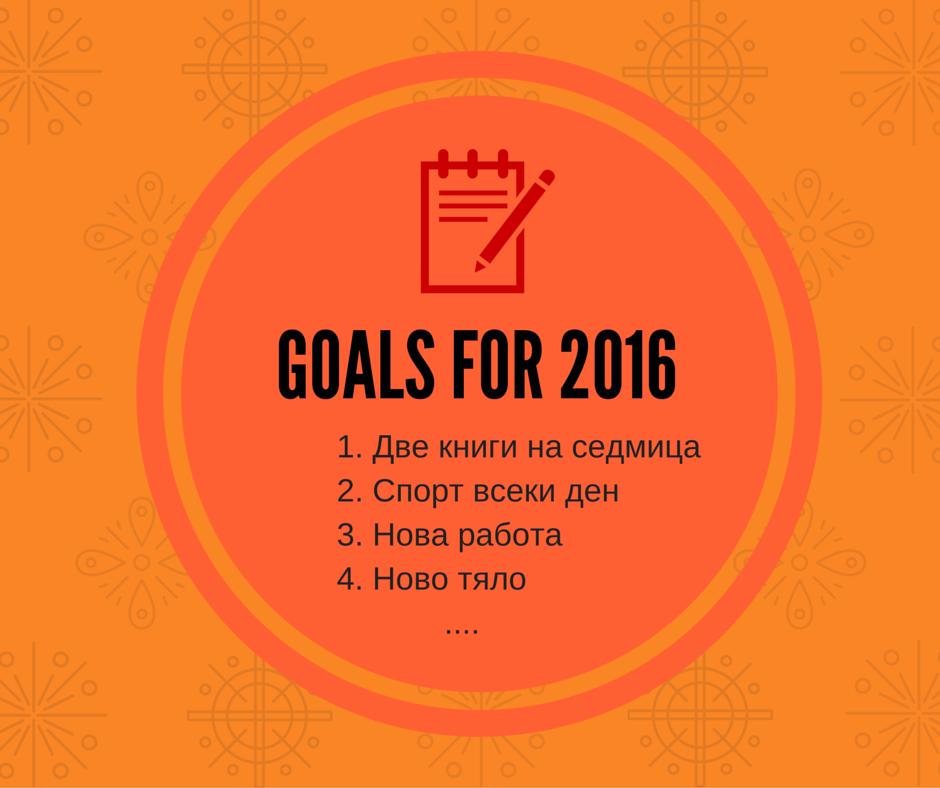 Как да НЕ планираш 2016 година